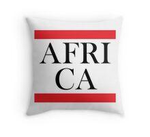 Africa Design Throw Pillow
