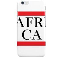 Africa Design iPhone Case/Skin