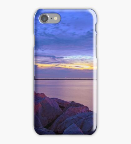 Evening on the Lake iPhone Case/Skin