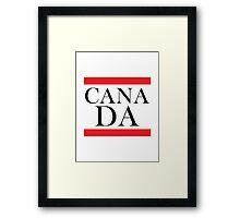 Canada Design Framed Print