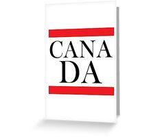 Canada Design Greeting Card