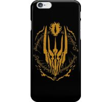 One Ring (Golden) iPhone Case/Skin