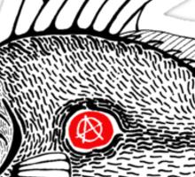 Punk fish 2 Sticker