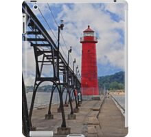Grand Haven Lighthouse iPad Case/Skin