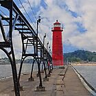 Grand Haven Lighthouse by Mike Griffiths