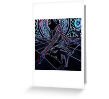 NEON PLAYFUL Greeting Card
