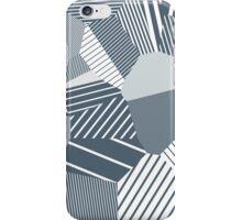 Finite resistance #83 - Voronoi Stripes iPhone Case/Skin