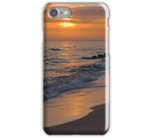 Twilight on Lake Michigan iPhone Case/Skin