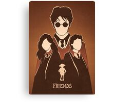 Harry, Hermione & Ron Tribute.  Canvas Print