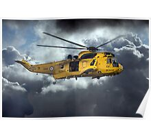 Sea King Saviour  Poster