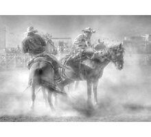 Bronco riding Photographic Print