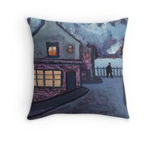 Sea view Throw Pillow