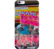 On Sale, Tokyo Japan iPhone Case/Skin