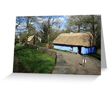 Bunratty thatched cottage Greeting Card