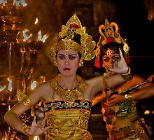 Balinese Dancers - Bali, Indonesia by Stephen Permezel