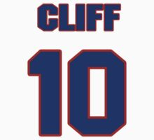 National baseball player Cliff Bolton jersey 10 by imsport