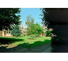 In Sidney Sussex College Gardens, Cambridge Photographic Print