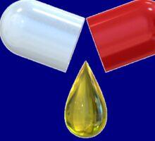liquid in a pill Sticker