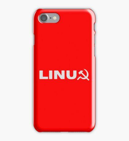Communist Linux Tee iPhone Case/Skin