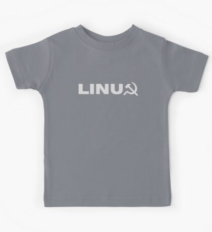 Communist Linux Tee Kids Tee