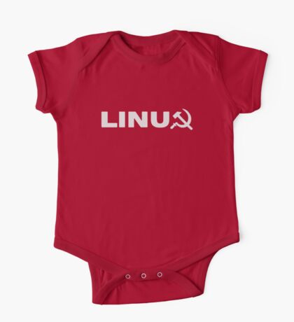 Communist Linux Tee One Piece - Short Sleeve