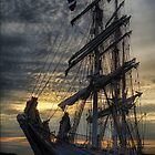 Sailing Ship by Gino Caron