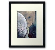 The Veil Of Negative Thoughts Framed Print