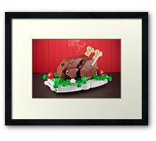 A Proper Turkey Framed Print