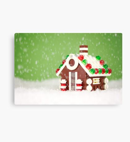 Let It Snow Canvas Print