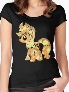 Applejack Roundup Women's Fitted Scoop T-Shirt