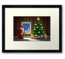 'Twas The Night Before Christmas Framed Print