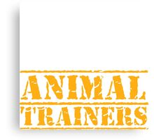 8th Day Animal Trainers T-shirt Canvas Print