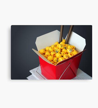 Mini Pok Canvas Print