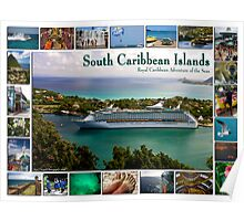 Royal Caribbean Southern Islands Poster Poster