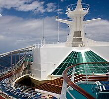 Cruise Ship Perspective 1 by David Chappell