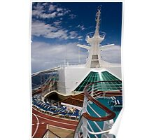 Cruise Ship Perspective 1 Poster