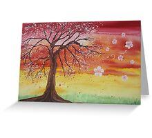 """Cherry Breeze Greeting Card"