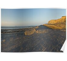 Kilve Cliffs Poster