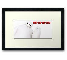 Baymax Framed Print