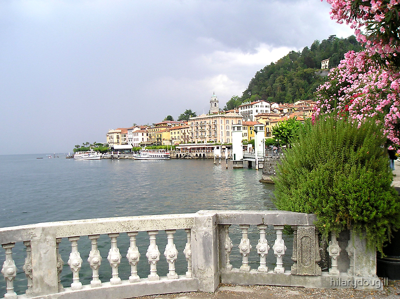 Lake Como by hilarydougill