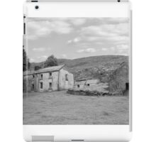 rundown abandoned Irish farmhouse iPad Case/Skin
