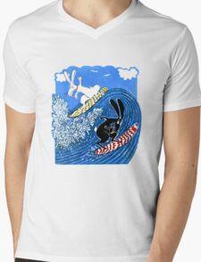Beach Bunnies the Tshirt Mens V-Neck T-Shirt