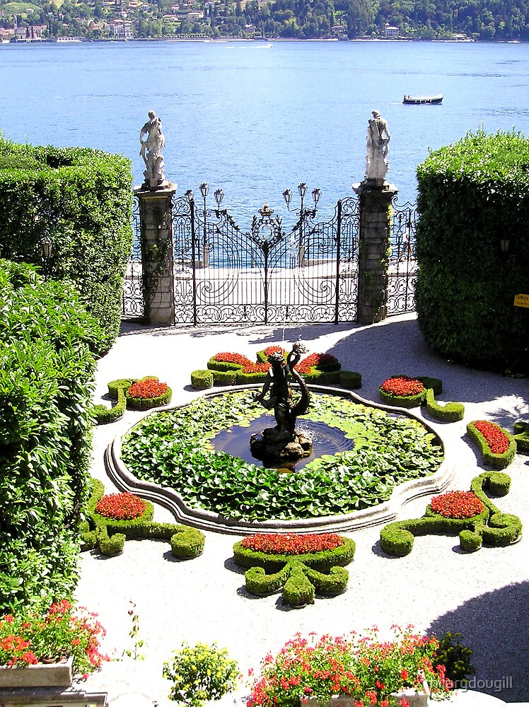 Catalina Gardens - Lake Como by hilarydougill