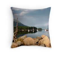 Leven Rocks Throw Pillow