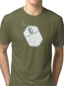 Digital computer mouse Tri-blend T-Shirt