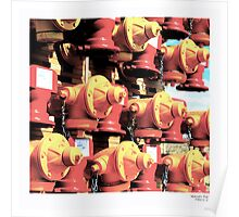 'Hydrants Ride' Poster