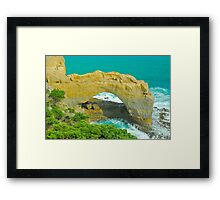 The Arch Lookout Framed Print