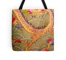 Ancient Chinese Ceramic Painting Tote Bag