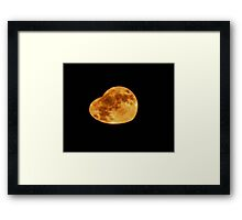 The Heart of a Small World Framed Print