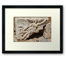 Nike - Godess of Victory Framed Print